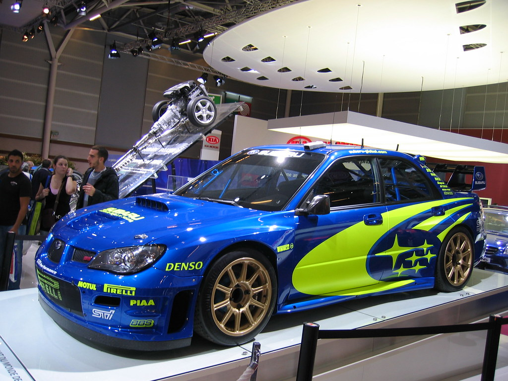 Subaru WRX STI rally car - a photo on Flickriver