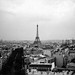 View of the Eiffel Tower from the Arc de Triomphe by kelly-bell
