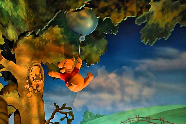 Disney Pooh Reaching For Honey Flickr Photo Sharing