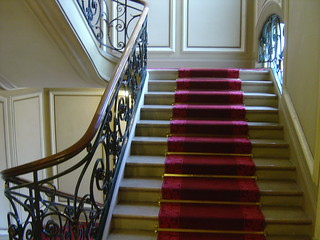 Concorde Saint Lazare Hotel Paris France (4th Floor Staircase)