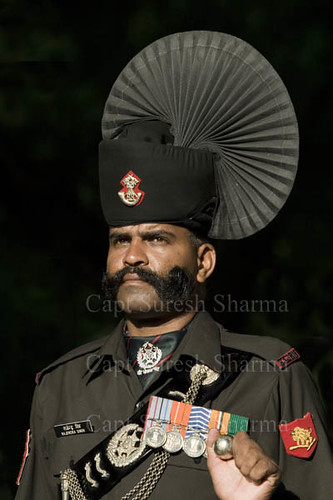 Rajputana Rifles (Indian Army) Soldier in Ceremonial Uniform