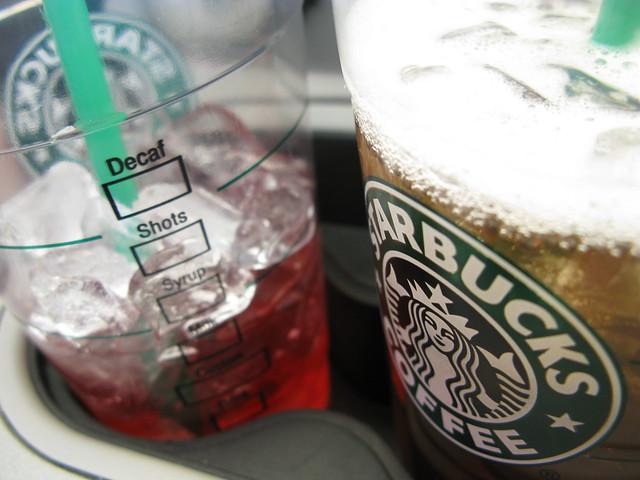 Two iced teas
