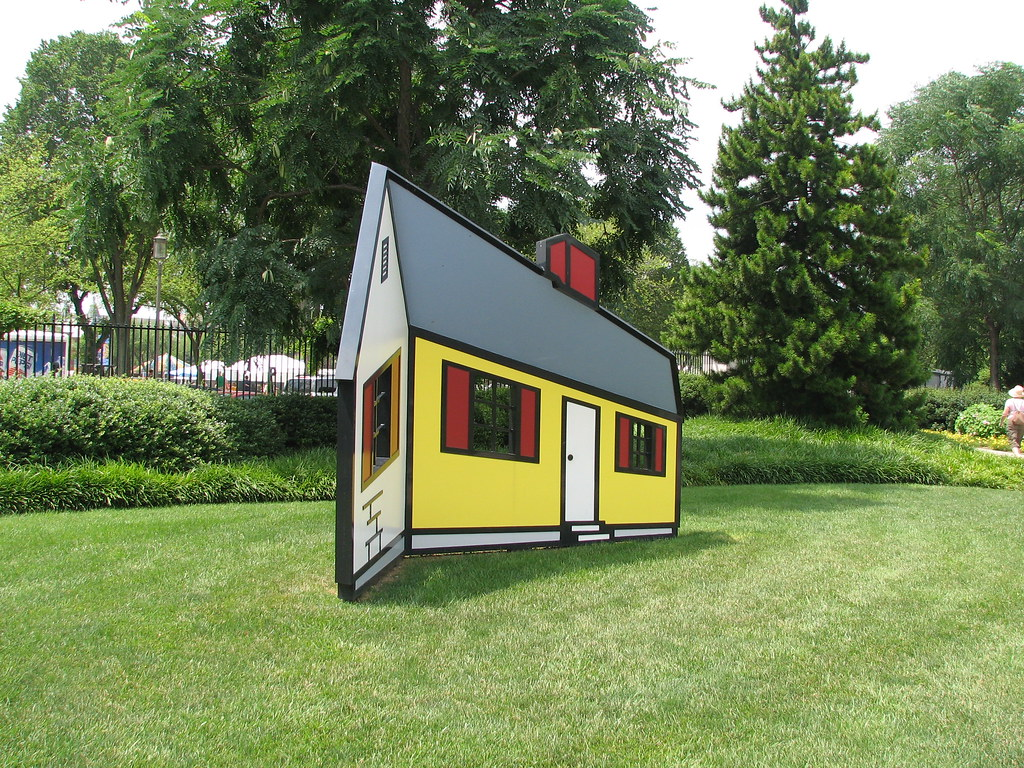 This House by Roy Lichenstein Will Trip You Out «TwistedSifter