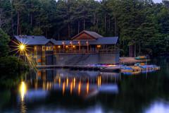 Lake Johnson Boathouse HDR