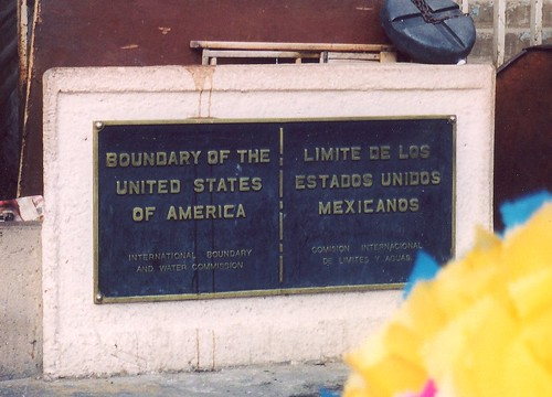 US - Mexican Border at Tijuana