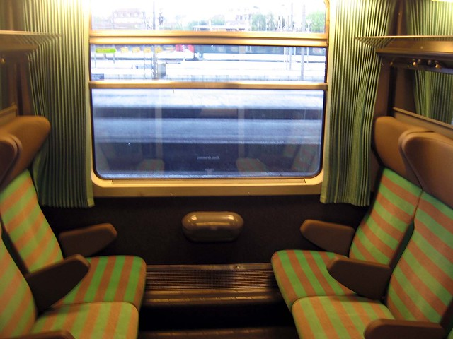 EuroCity Train Curtains | You never know, or at least I neve ...