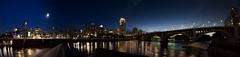 Minneapolis Skyline (Fisheye Projection)
