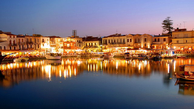 An evening in Rethymno