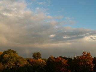 Wolke am Himmel, des Herzens süße Melodie im Herbst 043