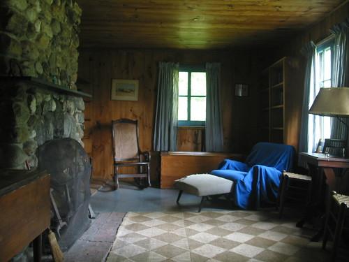 Robert Frost Cabin - interior