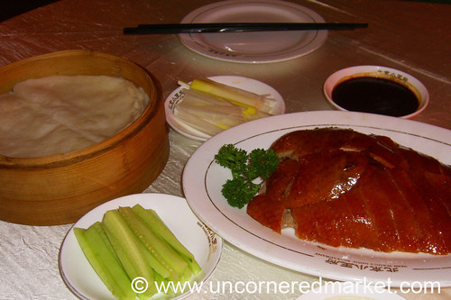 Peking Duck at Xiao Wang's - Beijing, China