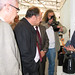 Tue, 18/11/2008 - 12:54 - O director xeral de I+D+i, Salustiano Mato, atende as explicacións dos responsables do proxecto 'Viperbot 1.0'. (IES Joan Guinjoan i Gispert. Barcelona). Galiciencia. 18 de novembro de 2008