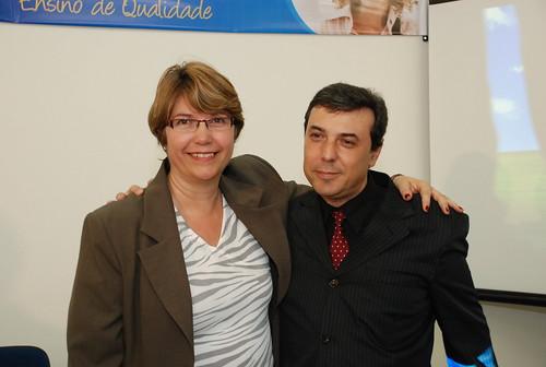 Profa. Solange e Prof. Dorival