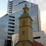 Armenian Church, Modern Skyscraper - Tallinn, Estonia