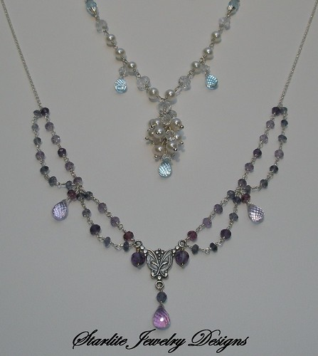 Starlite Jewelry Designs ~ Briolette Jewelry Design ~ Custom Orders by Design ~ Designer Jewelry