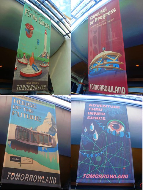 Past Attractions of Tomorrowland