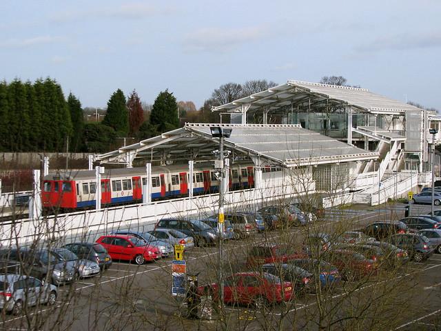 Hillingdon Underground Car Park