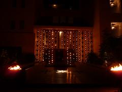 christmas decoration(0.0), evening(0.0), landscape lighting(1.0), light(1.0), darkness(1.0), night(1.0), lighting(1.0),