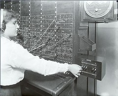 Switchboard Operator 1916  Photographer: Rosenfeld and Sons