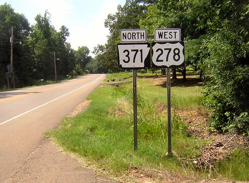 error highways arkansas roadsigns highwaysigns us278 statehighwaysigns us371