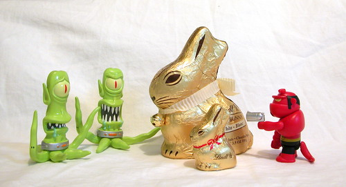GOLD BUNNIES IN TROUBLE?