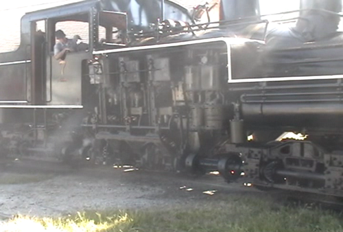 Video: three truck Shay @ Hesston Steam Museum