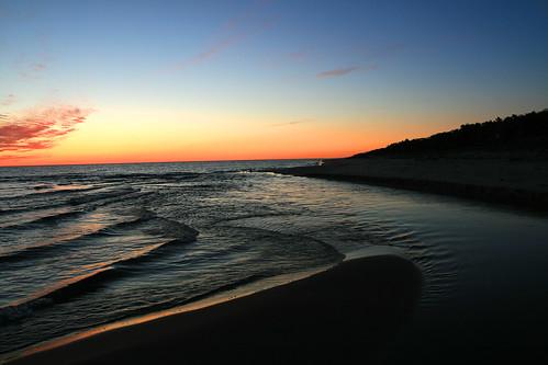 michigan lakes sunsets lakemichigan campminiwanca