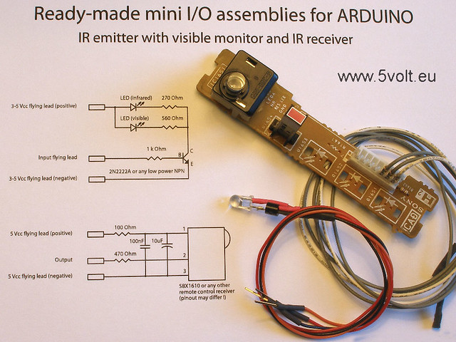 how to use ir transmitter and receiver with arduino