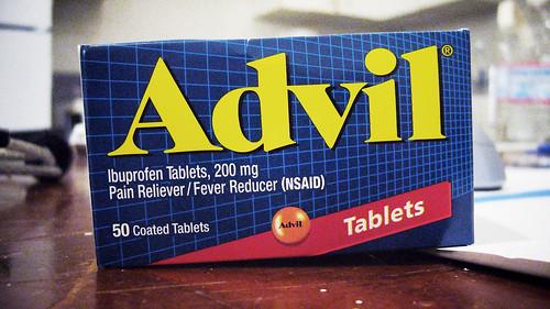 止痛聖品 Advil