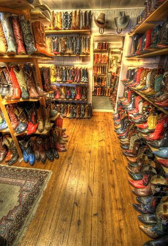 store cowboy texas boots interior tx footwear wildwest hdr wimberley cowboyboots photomatix 3exp wildweststore top20texas bestoftexas