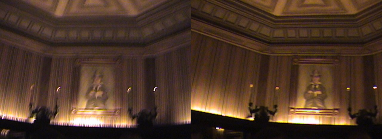 3D, Stretch Room, Haunted Mansion, New Orleans Square, Disneyland®, Anaheim, California, 2008.08.08 22:01
