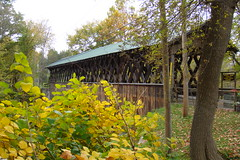Schoharie Covered Bridge 10/08