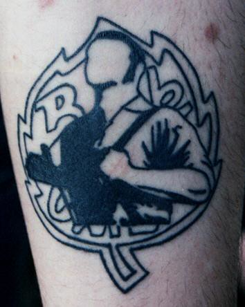 Skinhead Tattoos on Skinhead Tattoo   Flickr   Photo Sharing