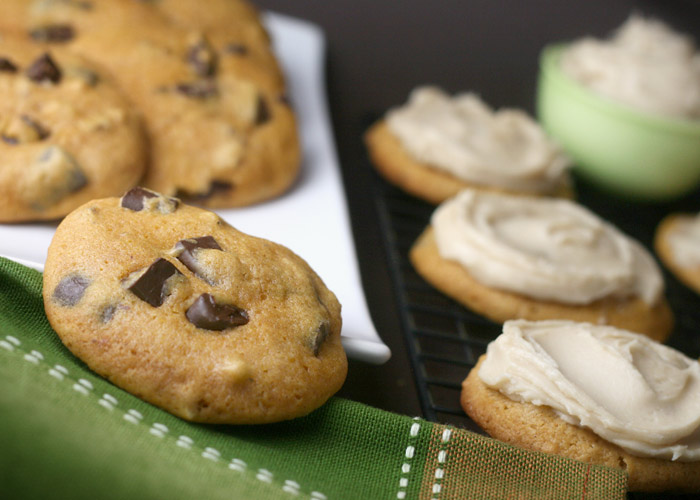 Pumpkin Pecan Chocolate Chunk Cookies