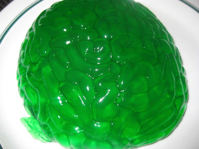 Image result for brain jello