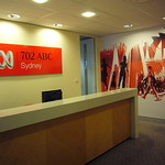 Foyer of Local Radio offices, ABC Ultimo Centre, Sydney