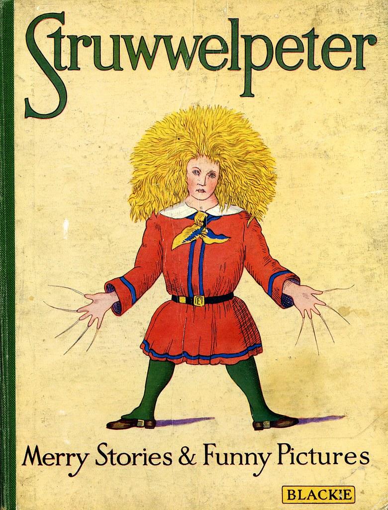 Literatura alemana Struwwelpeter heinrich hoffmann