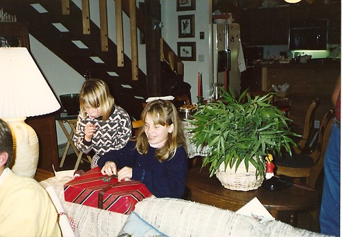 Jamie, Allison, Christmas 1989