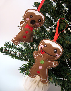 Free gingerbread men design!