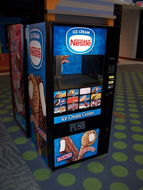 Nestle Ice Cream Vending Machine A Photo On Flickriver