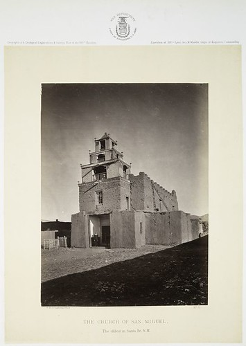 No. 11. The Church of San Miguel, the oldest in Santa Fe, N....