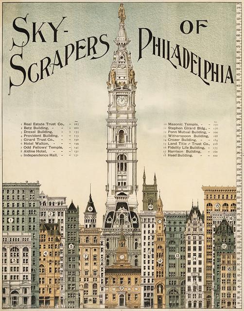 Sky-scrapers of Philadelphia, 1898
