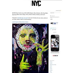 Check out StreetArtNYC.org for a sampling of artwork from SCOPE New York 2014 -- on view through tomorrow, 3/9.