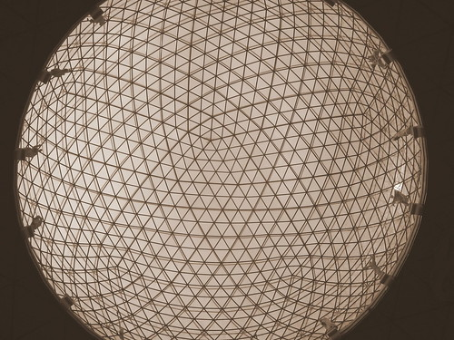 Sphere Roof Top- Sepia