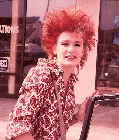 Really Bad 80s Hairstyle 3
