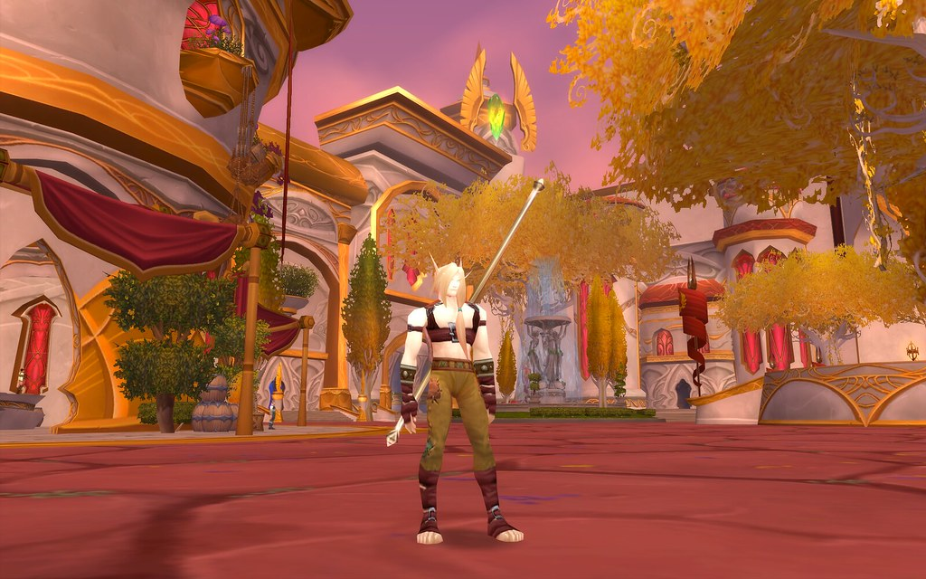 Blood Elf Hunter in Harness