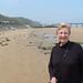 Omaha Beach, low tide by Grammie Martha