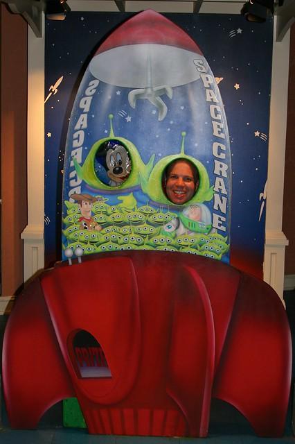WDW 2008 June - Having fun in Exposition Hall