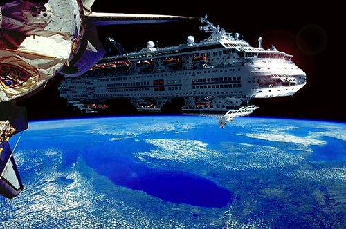 Cruise Ship in Outer Space (page 2) - Pics about space