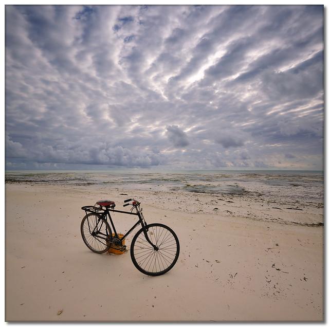 Zanzibar Beach Bicycle (Vertorama)